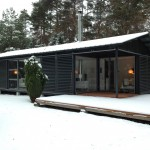 Heide- Loge im Winter