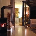 Ofen romantisch - Fotos Ferienhaus Heide - Heide Ferienhaus Fotos