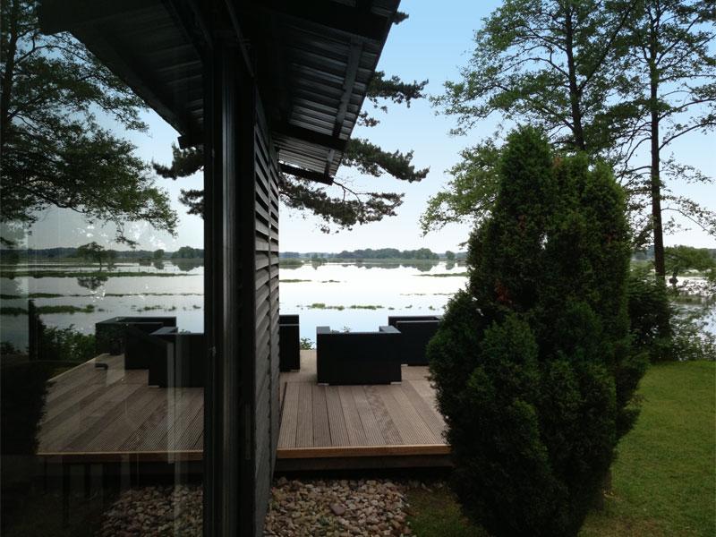 Ferienhaus am Fluss - Heide Lodge